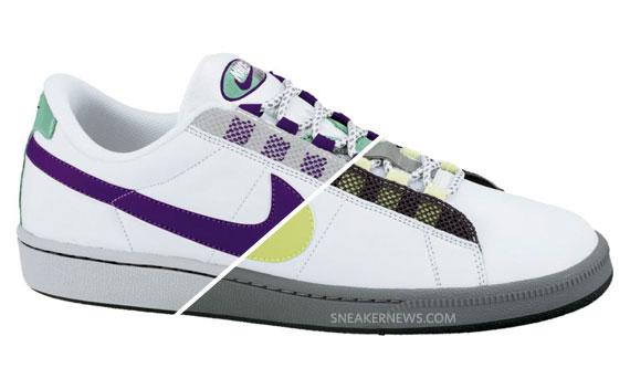 nouveau produit de565 ddc95 Nike Tennis Classic - Air Max 95 Inspired - Neon + Grape ...