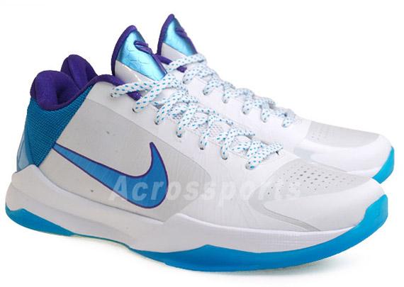 a16c48c940fa Nike Zoom Kobe V (5) Hornets
