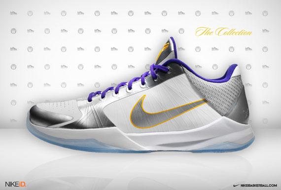 Nike Zoom Kobe V iD by Kid Hollywood - SneakerNews.com c6766f4b03