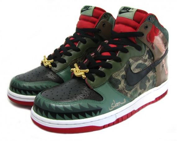 new style 579d9 f296c lovely RoyaleFam x SBTG x Nike Dunk High Memphis Belle