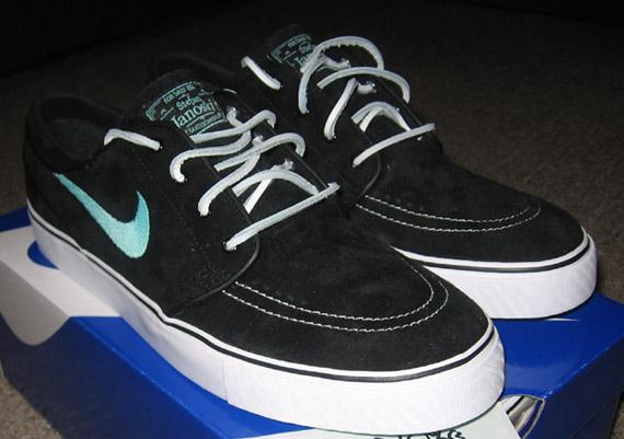 bd6ddb3b42a Nike SB Stefan Janoski  Tiffany  - Black - Mint - SneakerNews.com
