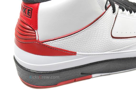 classic fit ed562 069bf Air Jordan II (2) Retro QF - White - Black - Varsity Red ...