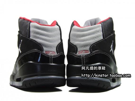 Air Jordan Flight SC 1 Black Red Grey