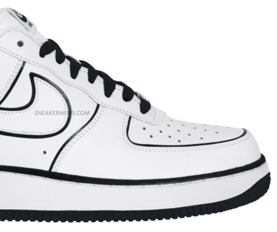 Nike Air Force 1 Low - White - Black - Vandal Inspired | July 2010 ...