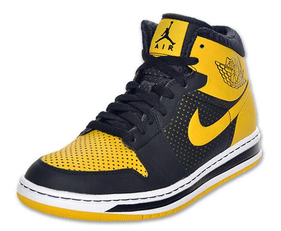 air jordan alpha 1 black and yellow