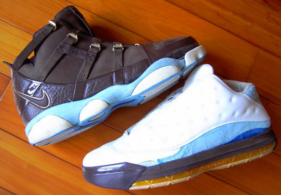 new product 01c1c c1320 Air Jordan XIII Low x Nike Zoom LeBron III – Sole Swap