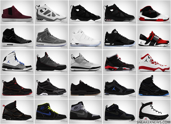 jordan shoes all models