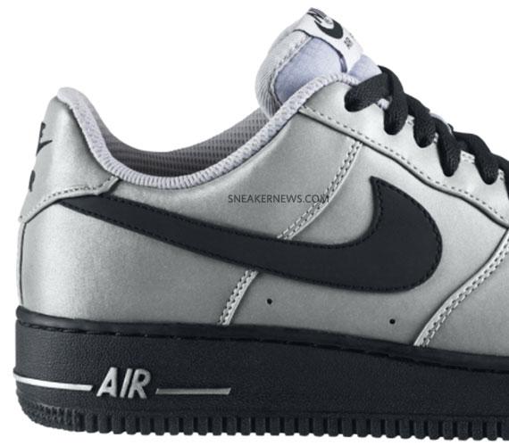 nike air force silver
