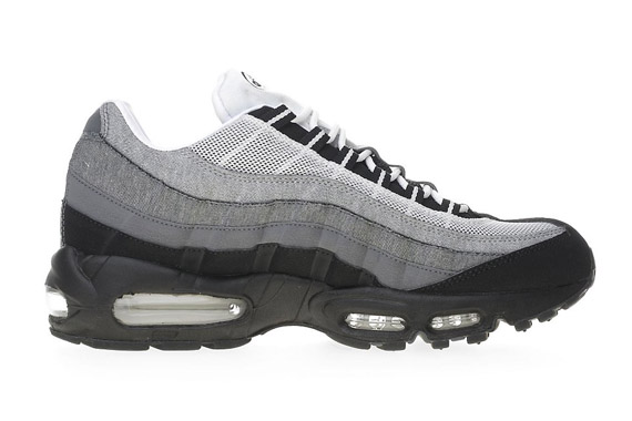 Air Max 95 Black White Grey