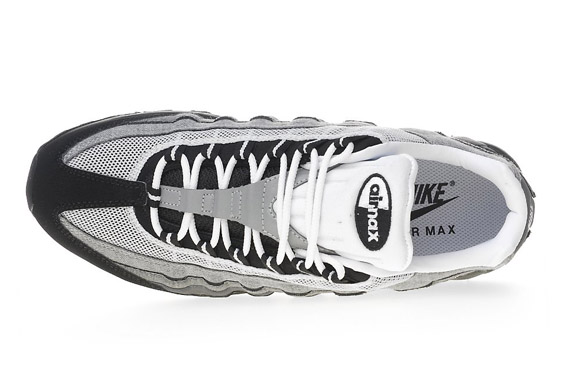 best website 76278 14d51 Nike Air Max 95 - Black - Grey - White | JD Exclusive ...