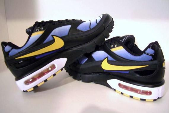 detailed pictures e0cbd 6a25e Nike Air Max Modular 98 SI - Black - Blue - Varsity Maize ...