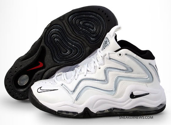 Nike Air Pippen 1 White Silver Black Available