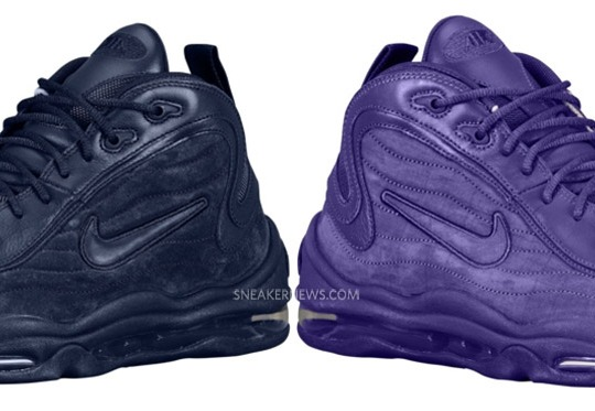 Nike Air Total Max Uptempo – Air Attack Pack – Navy + Purple