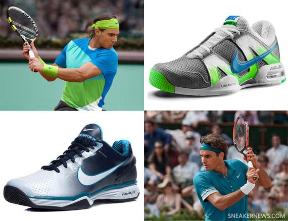 67545246d5e4 Roger Federer + Rafael Nadal x Nike Roland Garros Pack - SneakerNews.com