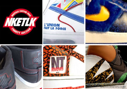 Niketalk's Help Haiti Custom Sneaker Auctions