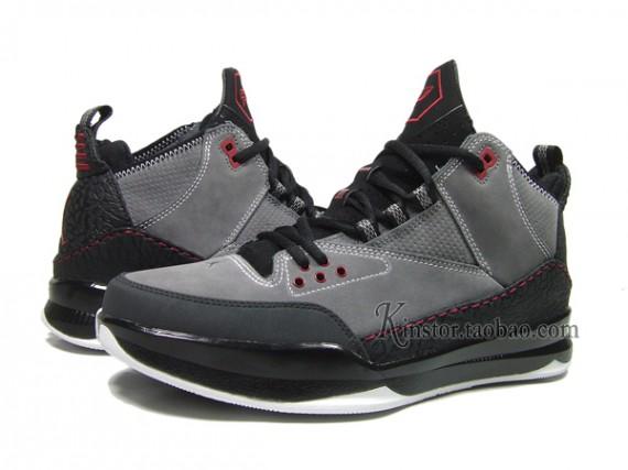 Air Jordan CP3 Tribute Grey Black Red