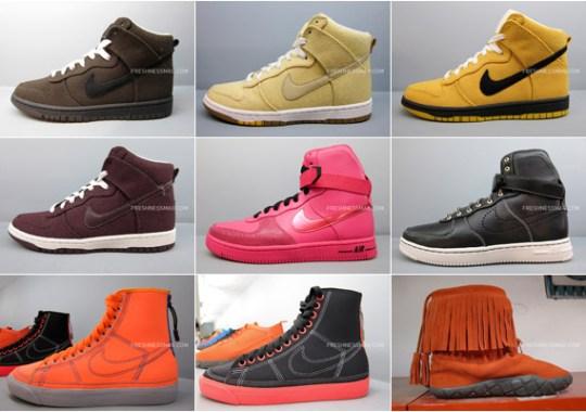 Nike Sportswear – Fall/Winter 2010 WMNS Footwear Collection