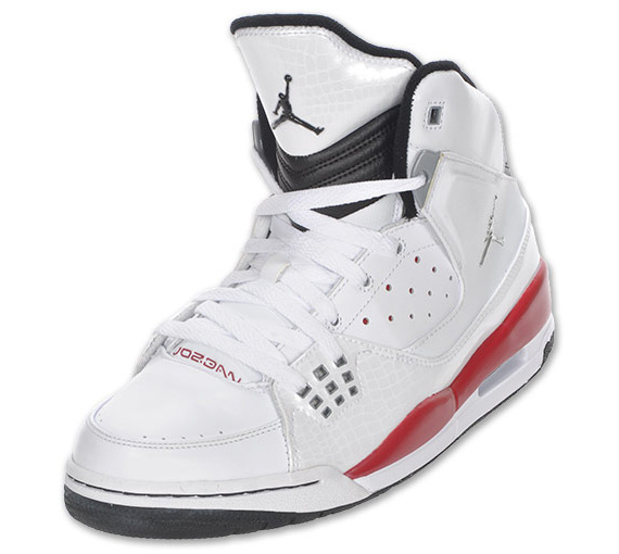 size 40 b923f e3687 Air Jordan Flight SC-1 – White – Varsity Red – Black   Available