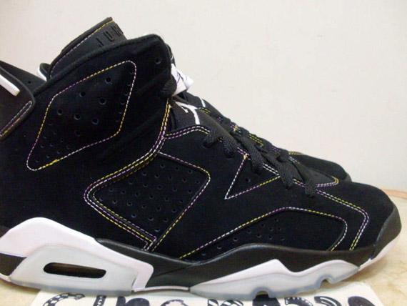 Air Jordan Vi 6 Retro Lakers Alternate Sample Version Sneakernews Com
