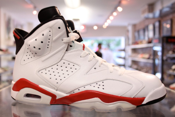 32e1bd9912d5 Air Jordan VI (6) Retro - White - Varsity Red