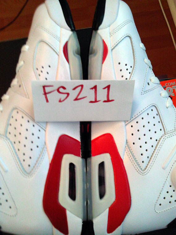 47cca4fb3e1 Air Jordan VI Infrared Pack vs. 2000 Retro/Varsity Red - Side-by ...