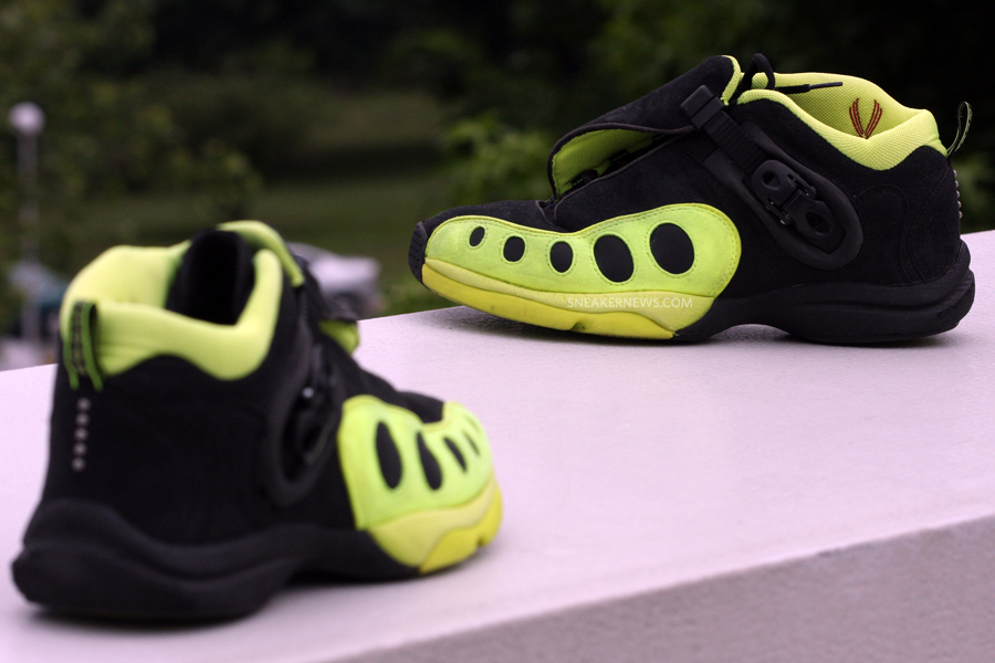 new style 57e0e 11215 Classics Revisited Nike Air Zoom GP - Black - Neon Yellow 19