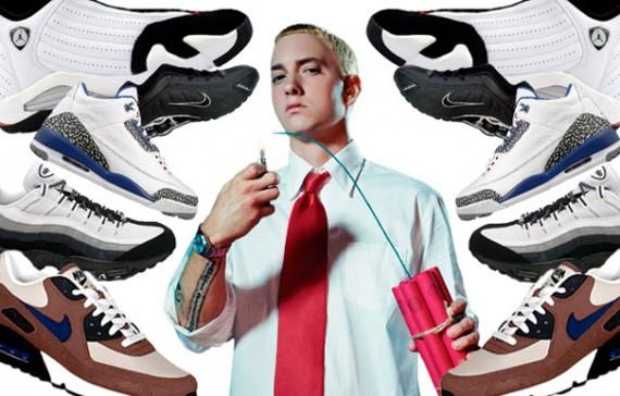 Eminem's Greatest Footwear Moments