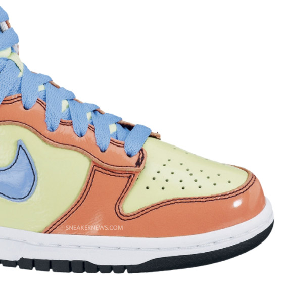save off 2d268 f0f8d Nike 6 0 WMNS Dunk High Liquid Lime University Blue Available new