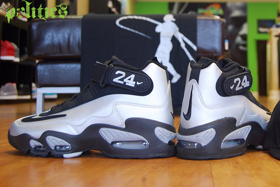 Nike Air Griffey Max 1 QS - Metallic Platinum - Black - SneakerNews.com be7e3b5e6