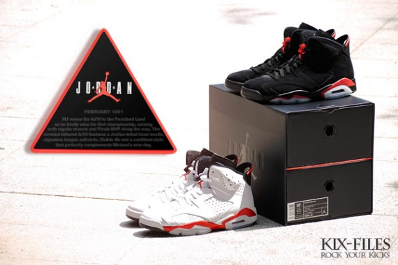 super popular d78a4 eedaf Air Jordan VI (6) Retro – Infrared Pack   Detailed Images