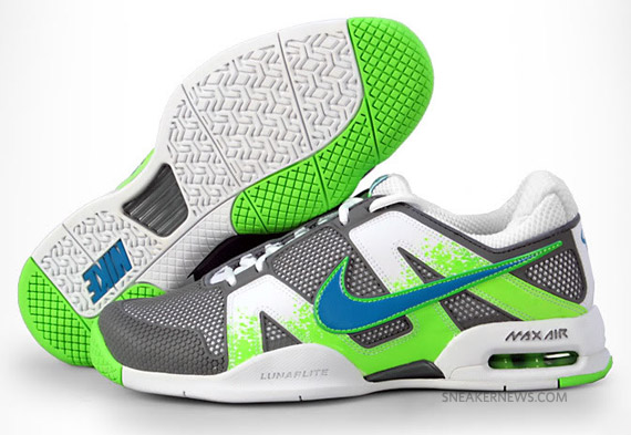 sneakers for cheap 4fee4 3b48f Nike Air Max Courtballistec 2.3 – Electric Green Lava  Avail