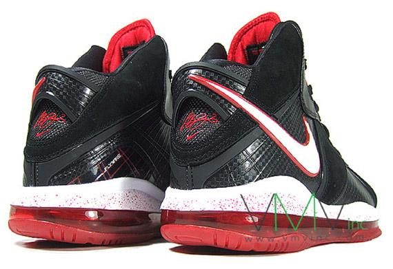 30%OFF Nike Air Max LeBron VIII 8 Black White Red cplondon