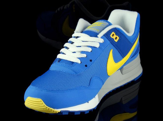 sale retailer a27b3 486a0 Nike Air Pegasus  89 - Blue - Yellow   Available - SneakerNews.com