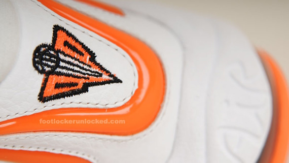 more photos a4482 332b4 Nike Air Pippen 1 – White – Total Orange   Available at Foot Locker. June  29 ...