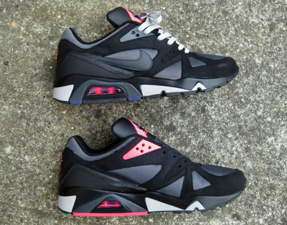 online store ba9d9 1f375 Nike Air Structure Triax  91 – Black – Anthracite – Pink – Metallic Silver