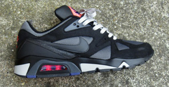 date de sortie e047a 4137d Nike Air Structure Triax '91 - Black - Anthracite - Pink ...