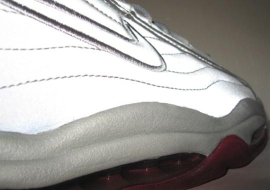 Nike Air Total Max Uptempo – Metallic Silver – Team Red  312bdbf37666