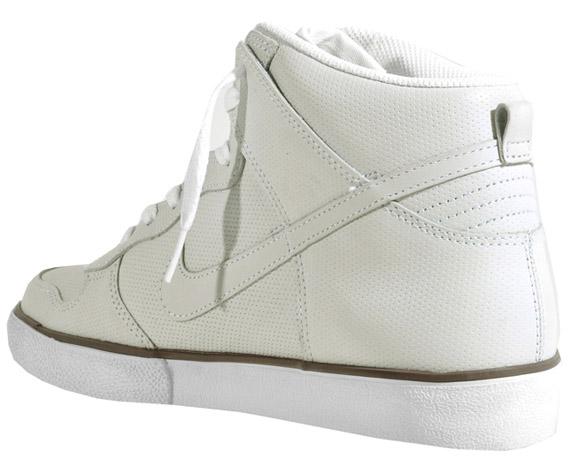 Nike Dunk High AC QS White Perf