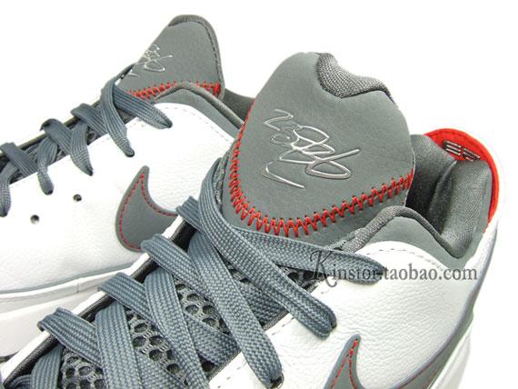 bc71f0b7bf58 Nike LeBron VII (7) Low - White - Cool Grey - Team Orange - SneakerNews.com