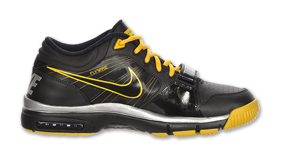 new concept 03d37 7906a livestrong x nike trainer 1.2 black varsity maize