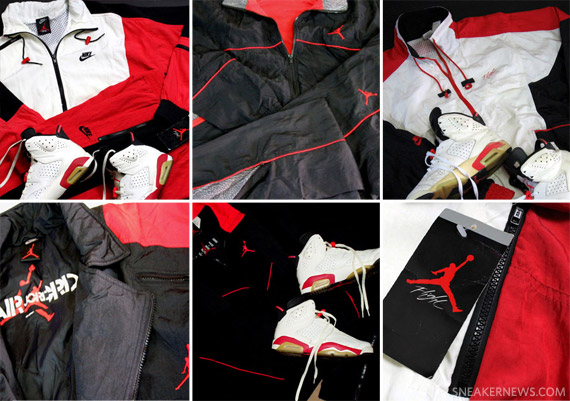 02d8b54e377 Vintage Air Jordan Warm-Up Suits - Part 1: 'Bred' Edition ...