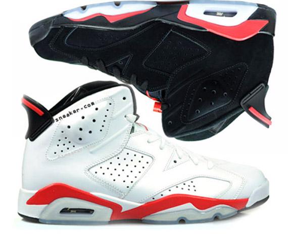f209f612bbdc09 Air Jordan VI Infrared Pack