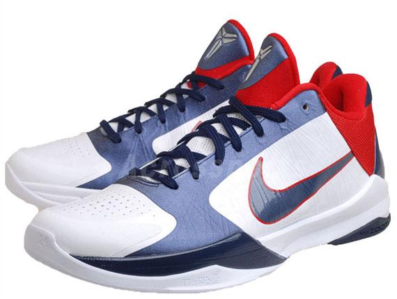 Nike Zoom Kobe V 5 Team USAB | Available on eBay