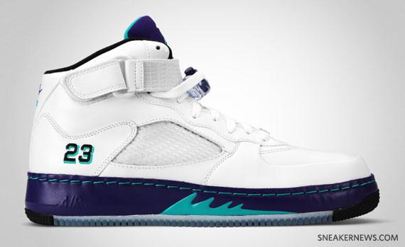 Air Force Jordans 5