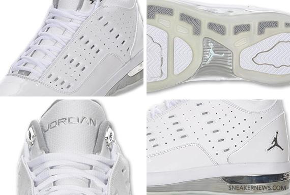 Air Jordan One6 One7 - White - Metallic Silver  e29b04126