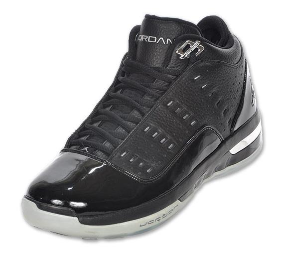 Air Jordan One6 One7 - Black - Metallic Silver  9430206a0