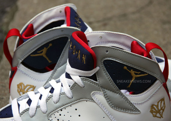 8516f94895e668 Air Jordan VII (7) Retro - Olympic -  For The Love Of The Game ...