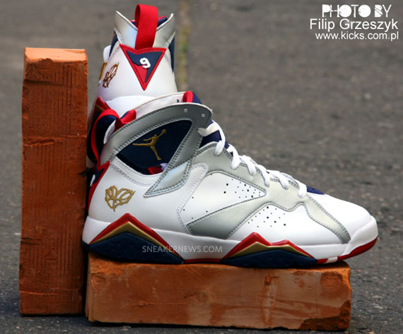 """Air Jordan 7 Olympic """"For The Love of the Game"""" (Detailed ..."""