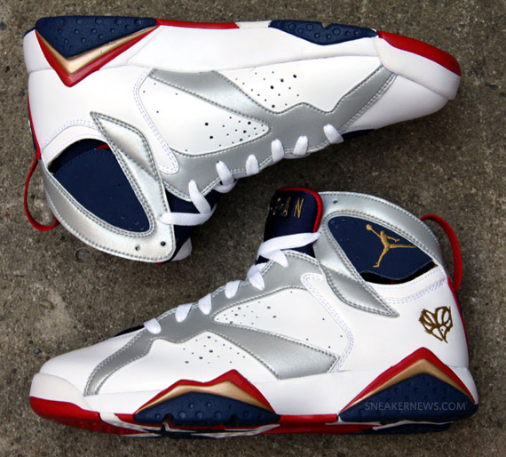 30d53eadc02d37 Air Jordan VII Retro - Olympic - New Release Information ...