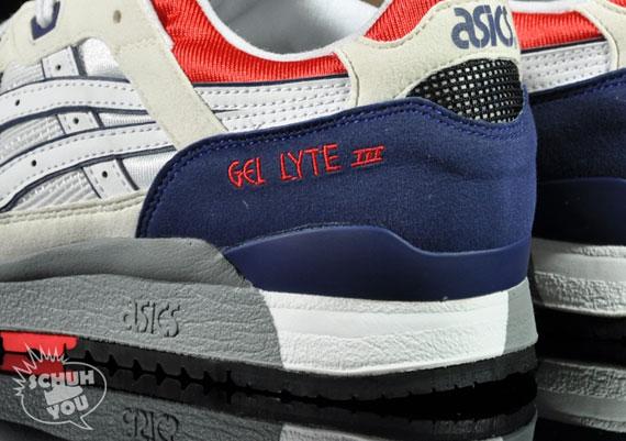 Asics Gel Lyte Iii Azul Blanco Rojo Y6UiF9q